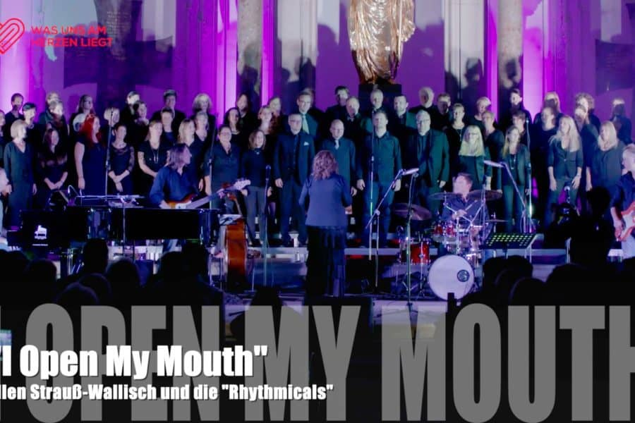 "Ellen Strauß-Wallisch und die ""Rhythmicals"" – ""I Open My Mouth"""