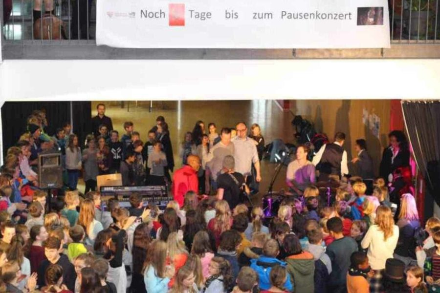 Pausenkonzert Gymnasium Rutesheim
